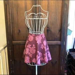NWT Abercrombie & Fitch Rose Tapestry Skirt